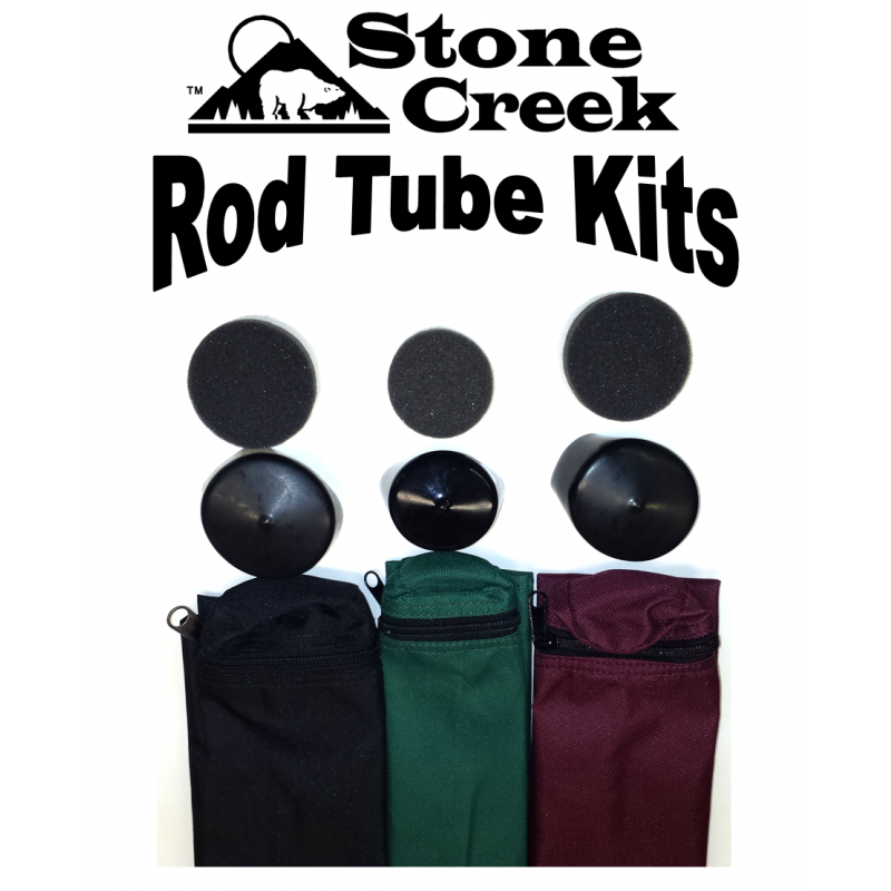 Rod Tube Kit For Multi Piece Fly Rods