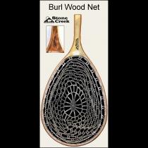 Burl Wood Ghost Net - Brown