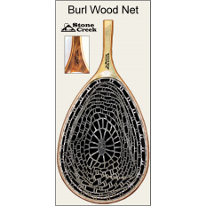 Burl Wood Ghost Net - Brown