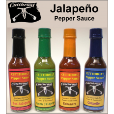 Jalapeno Pepper Sauce - 4 Pack