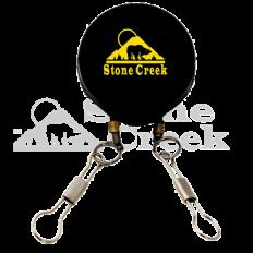 Double Tool Retractor/Zinger - Pin On