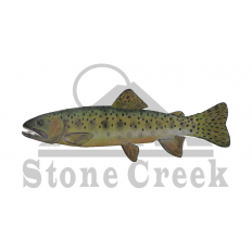 Cutthroat Trout Window Sticker