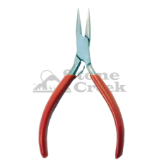 5 In Micro Pliers - Matte w/Red Grips