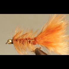 Bead Head Woolly Bugger - Brown - Singles