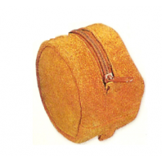 Suede Reel Pouch - Small - 3-1/2 Inch - Double Reel