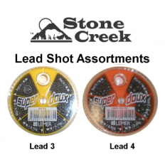 Stone Creek Lead Shot Assortments 3 & 4