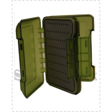 Double Sided Waterproof Fly Box - Green