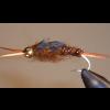 Kafumann / Giant Brown Stone - Bead Head