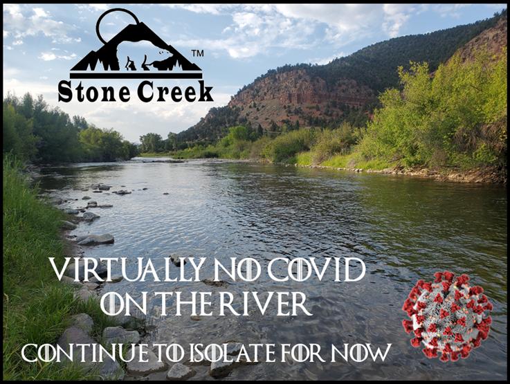 Stone Creek - Covid19 River Image