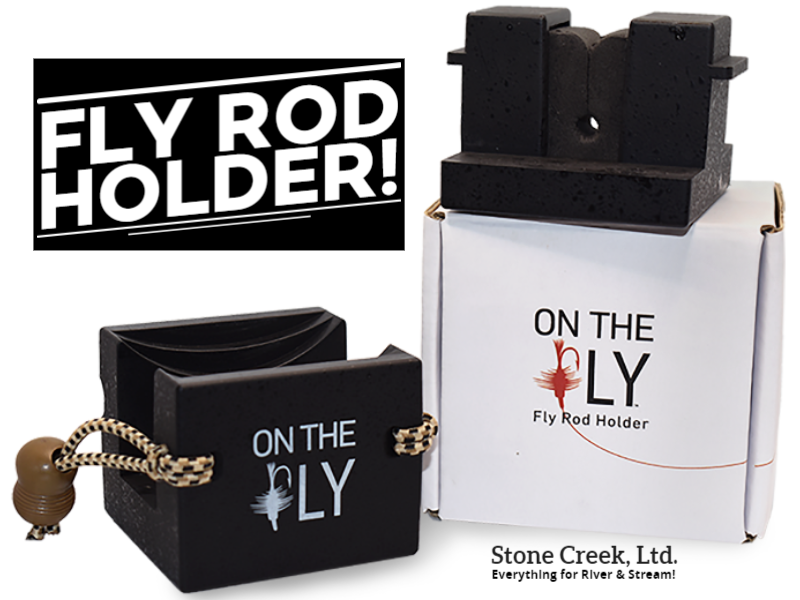 Selkirk Design - ON THE FLY - Fly Rod Holder