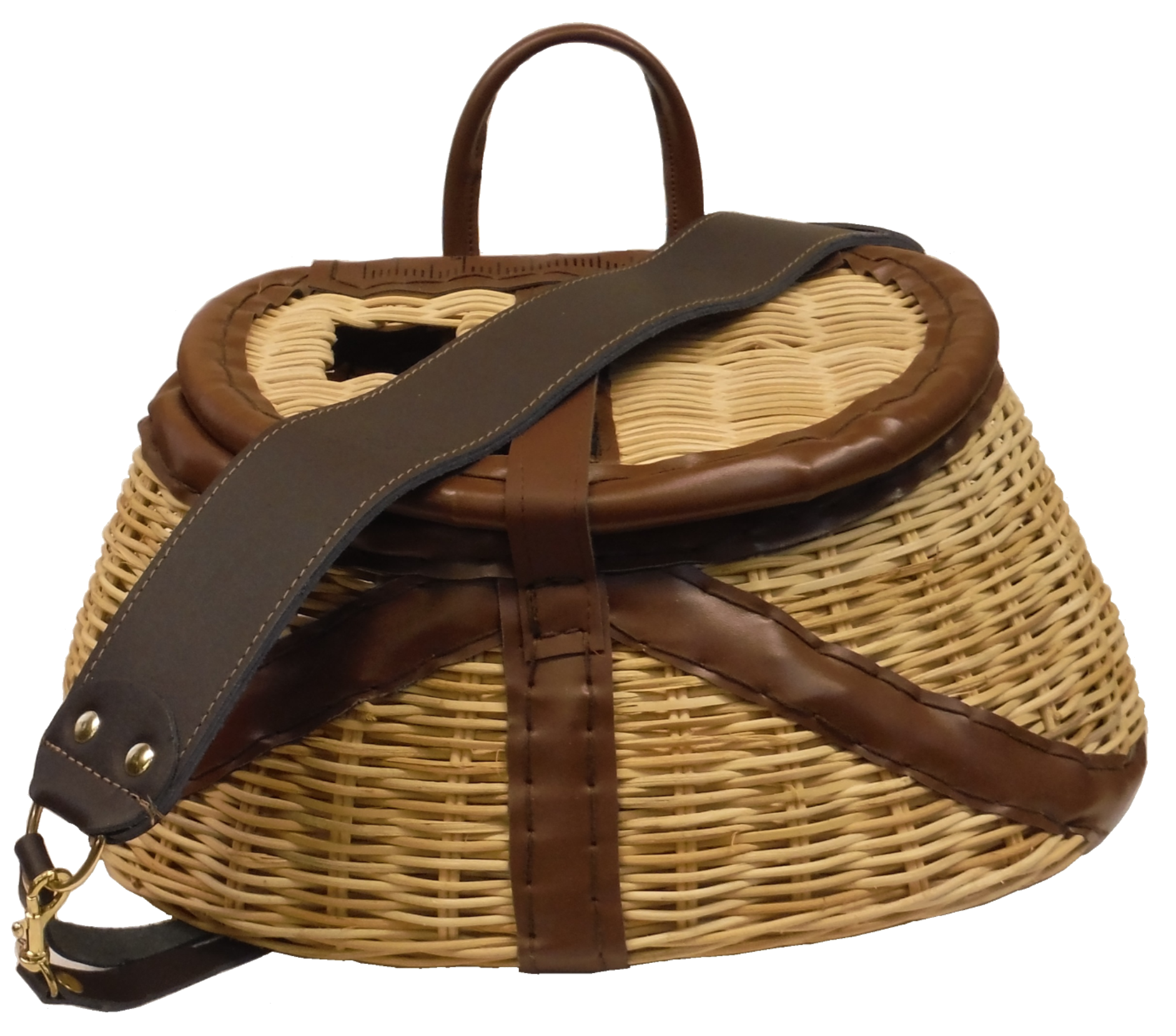 Stone Creek Rattan Creel w/Harness